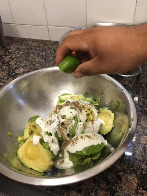 Cooking Guac